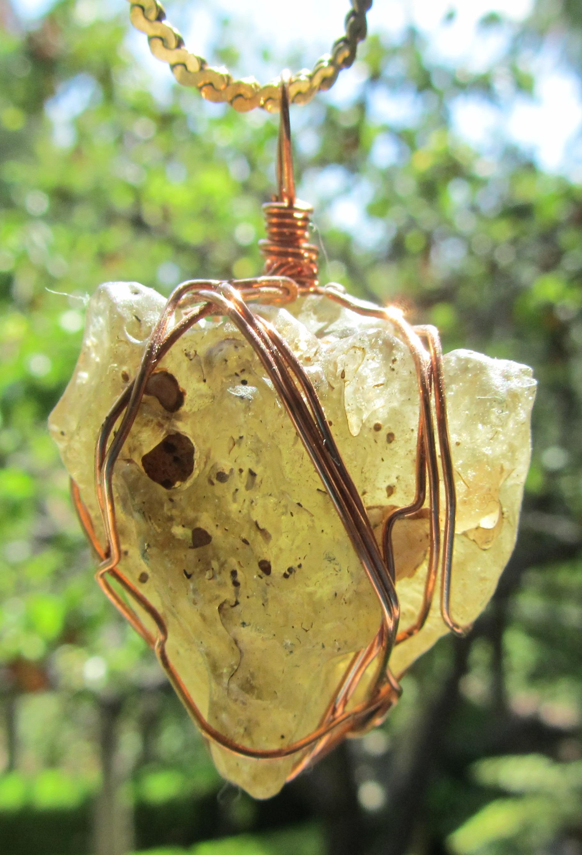 libyan desert glass tektite | Tania Marie