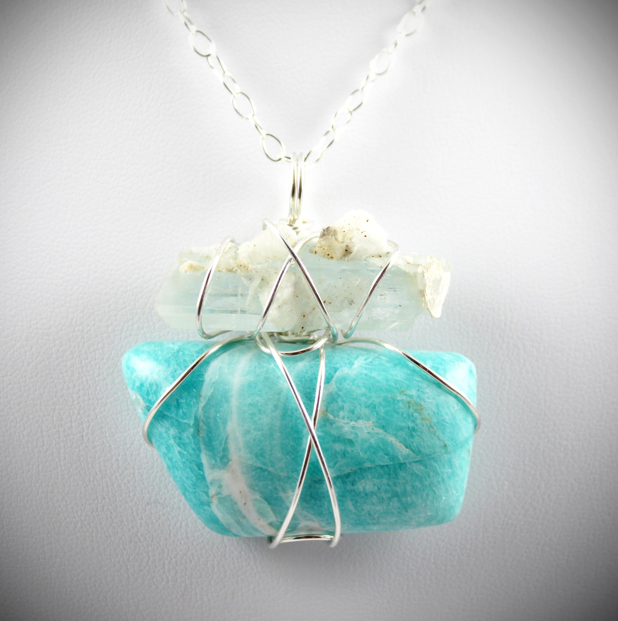 Twin Flame Symbol Communion Of Soul  Aquamarine
