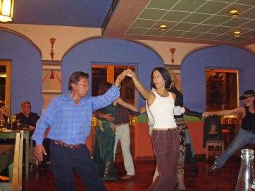 Dancing in Cusco, Peru