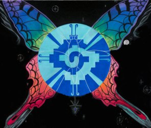 Galactic Butterfly