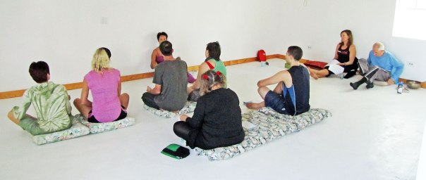 Teaching Reiki 1 Class in Bimini