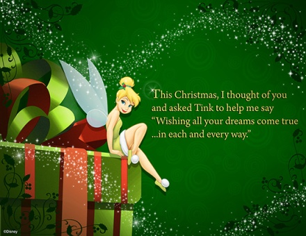 Tinkerbell Christmas wishes