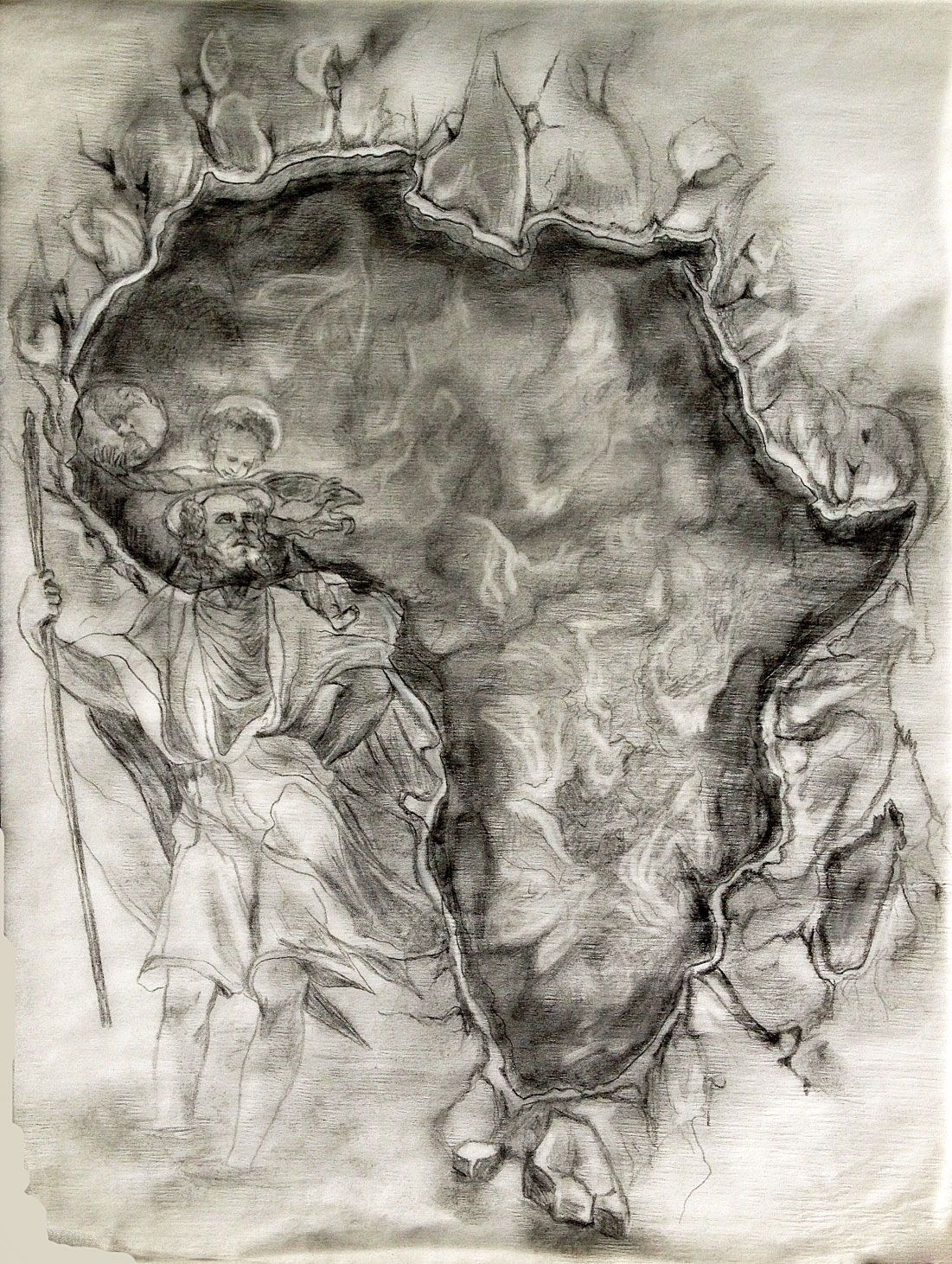 Map Of Africa Tattoo Tania Marie