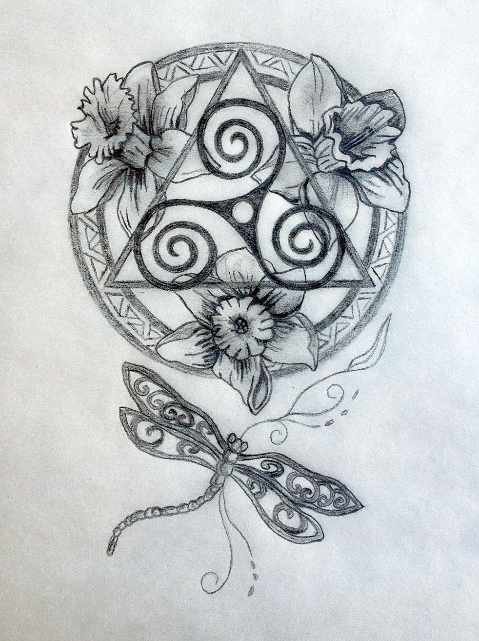 Sacred Celtic Mandala Tattoo Design