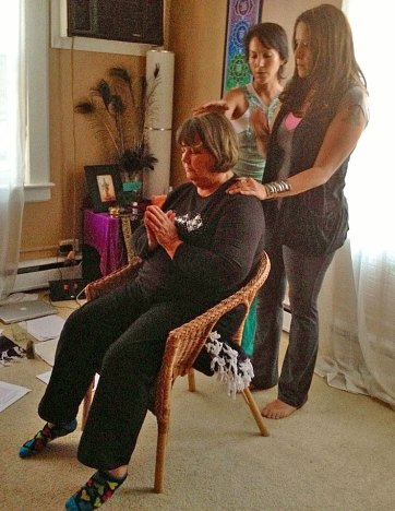 tania marie teaching reiki 3 master teacher class