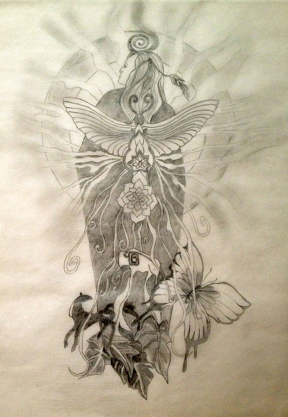 Native american indian sacred soul tapestry tattoo design sacred tattoo design buycottarizona
