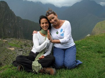 me and amy in peru