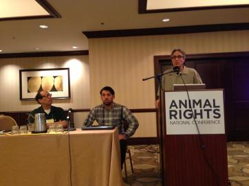 David at Animal Rights National Conference