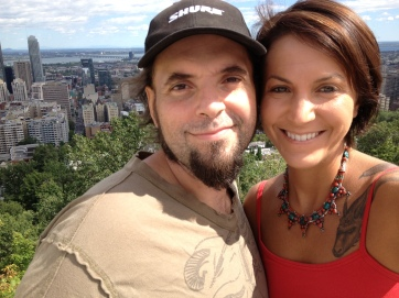 kaz and me at mount royal