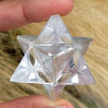 quartz-merkaba