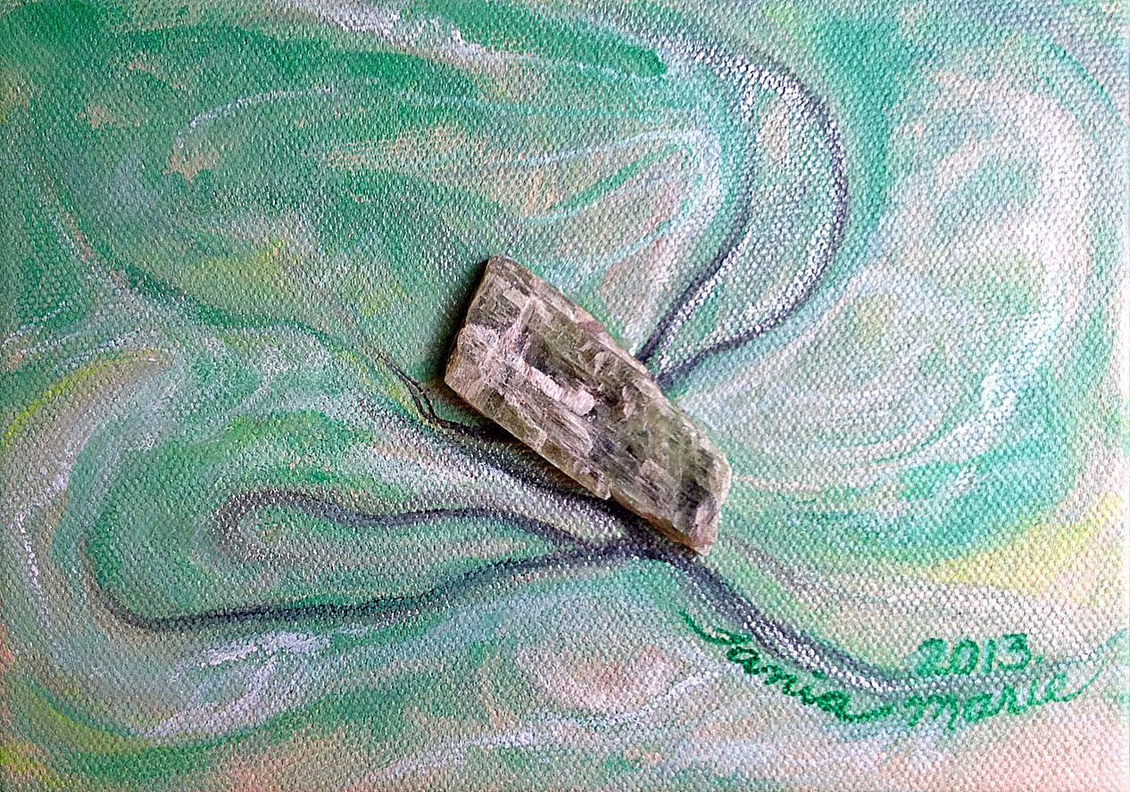 Green-Kyanite