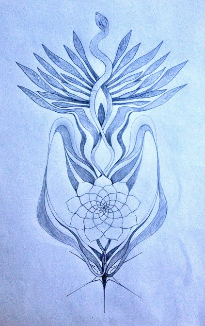 Kundalini Sacred Tattoo Design