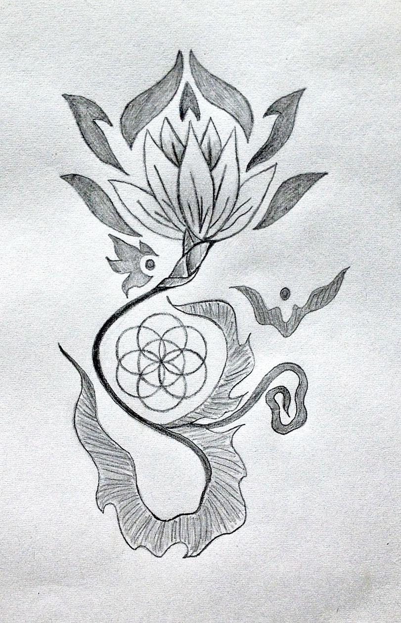 Sacred Geometry Tattoo Designs