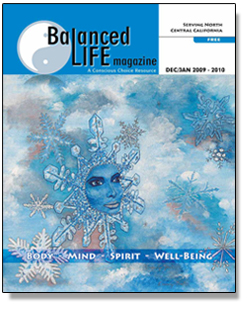 balanced life magazine cover CA