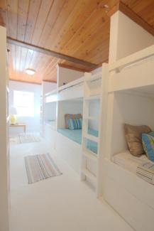 ladies shared bunk bedroom