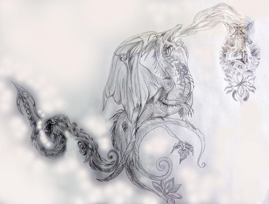 16cdfb37fdcb2 dragon tattoos | Tania Marie
