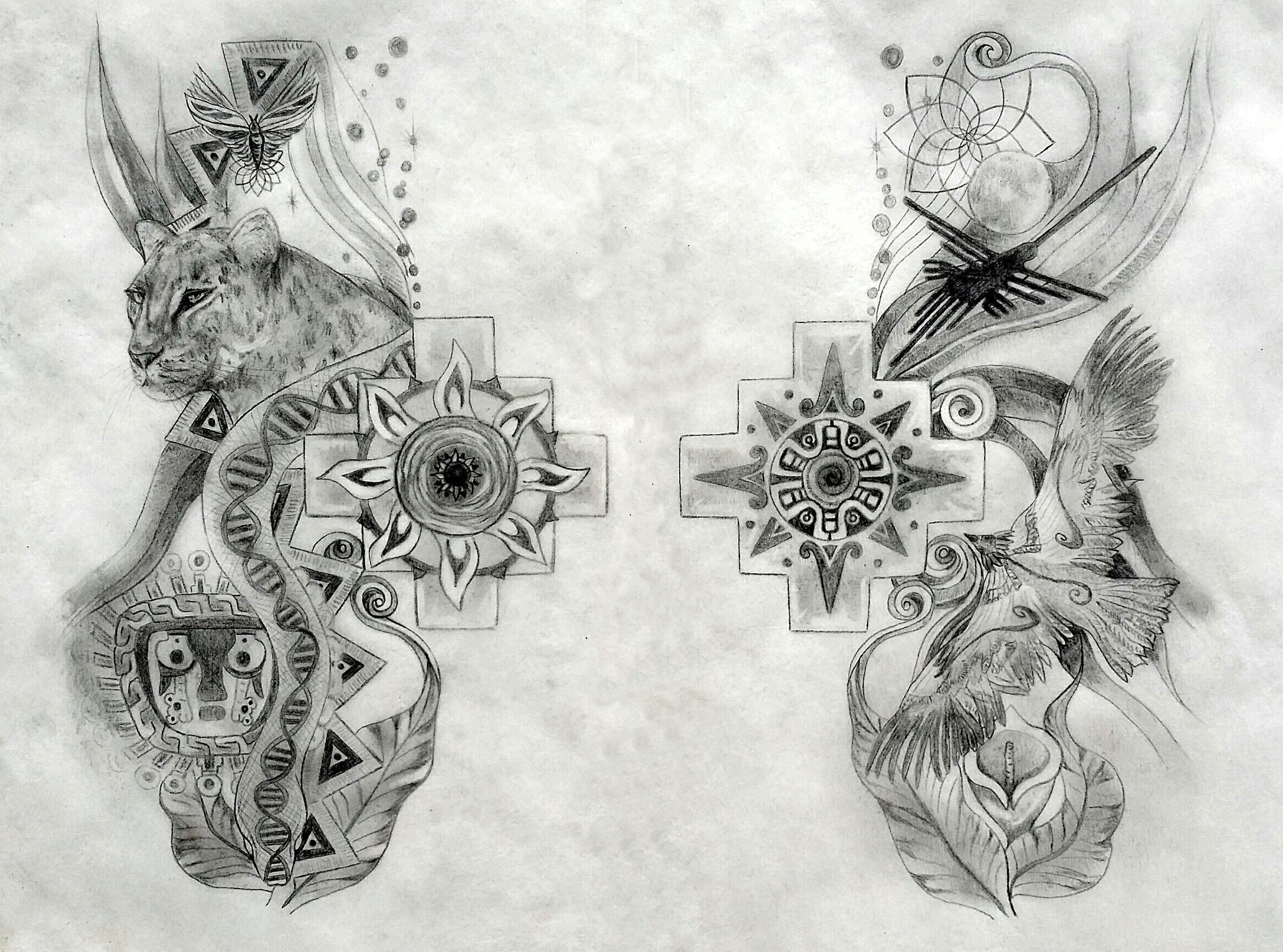 Marriage Tattoo Designs