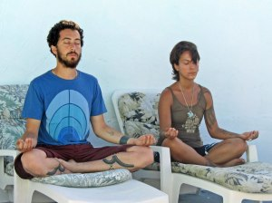 meditating in Bimini