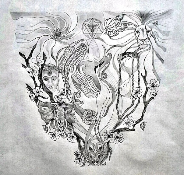 Chad Sacred Tattoo Design