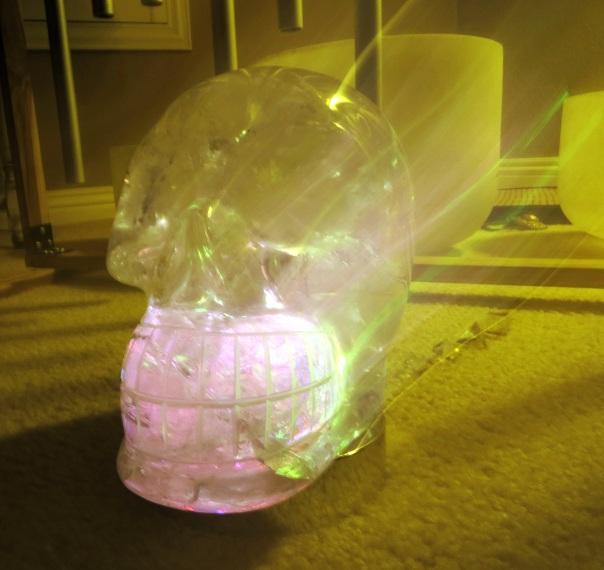 Raja Seraphina Crystal Skull