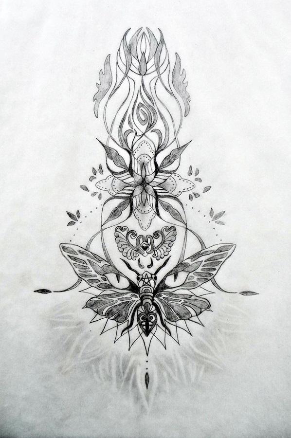 Upper Back Tattoos Tania Marie