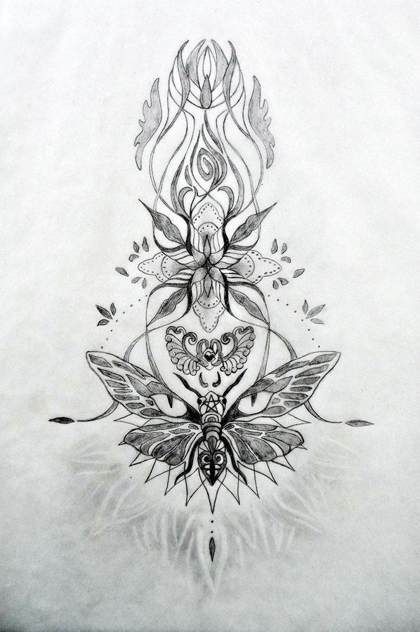 Sacred Tattoo Design