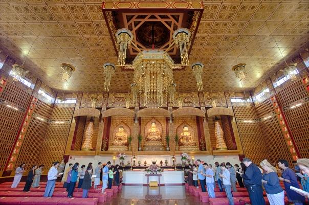 Hsi Lai Temple Main Shrine (2)