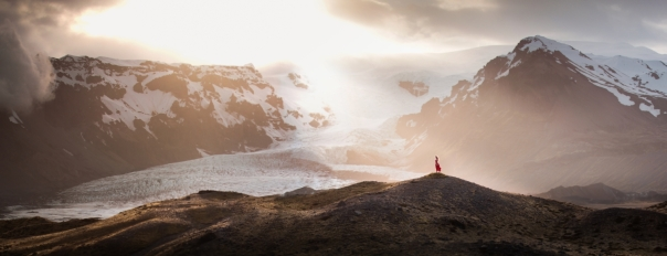 Elizabeth Gadd Self Portrait Iceland Take It In