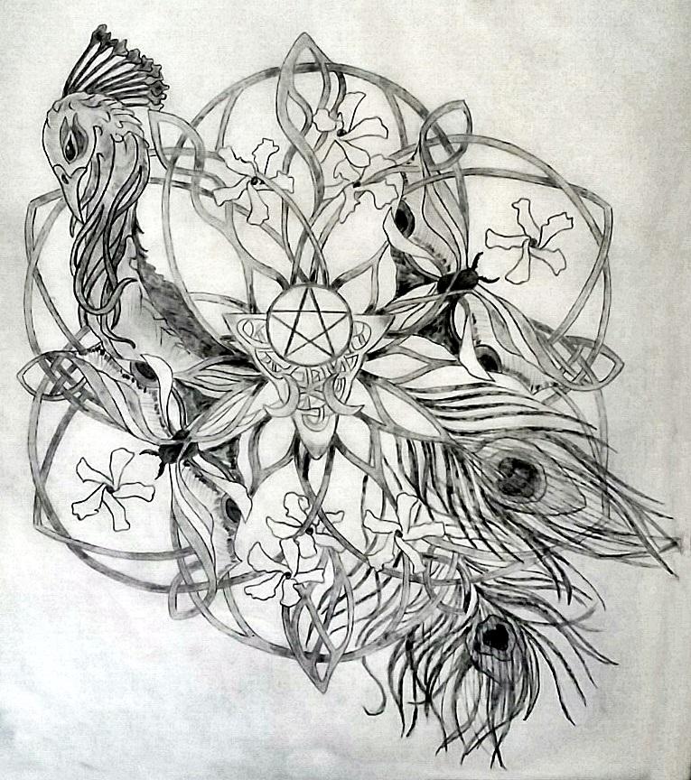 Garden Of The Goddess Sacred Tattoo Mandala Design