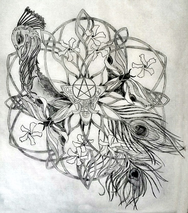 Irena Sacred Tattoo Design