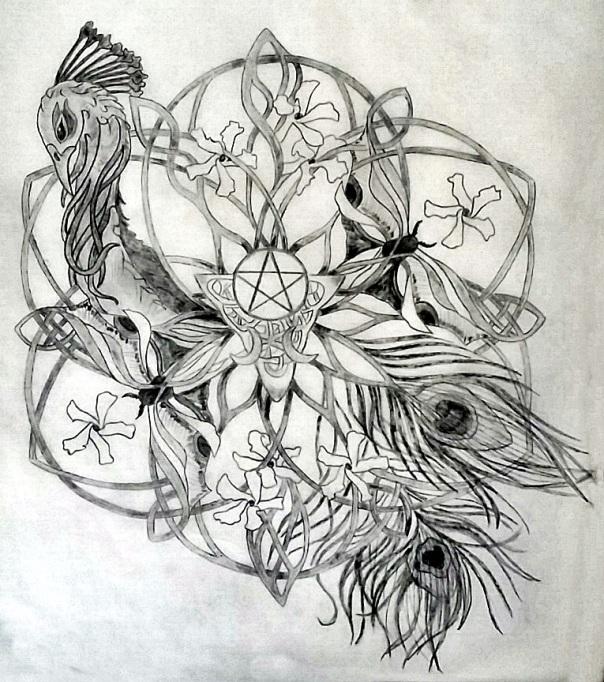Irena Sacred Tattoo Design