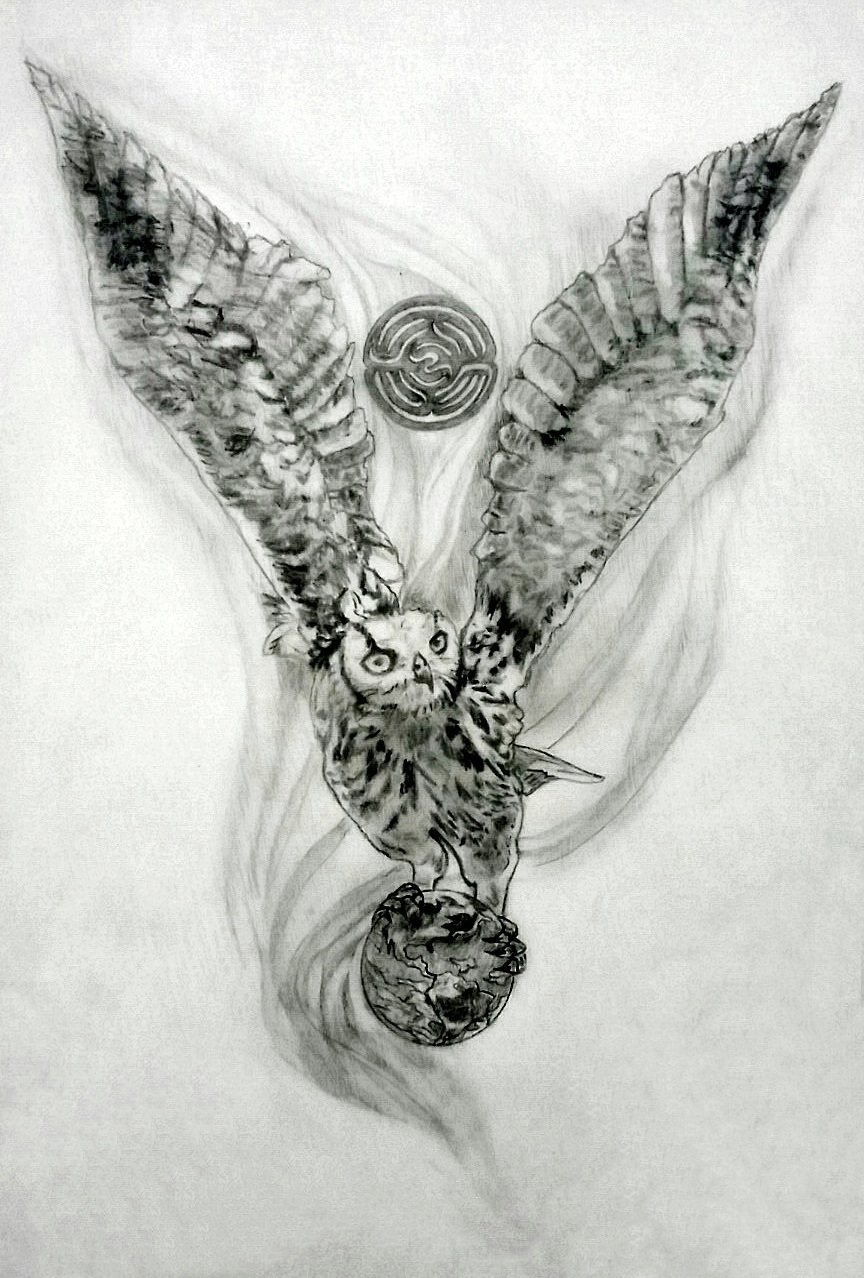 Guardian of Sacred Wisdom ~ Owl Tattoo Design | Tania ... Labyrinth Movie Tattoo