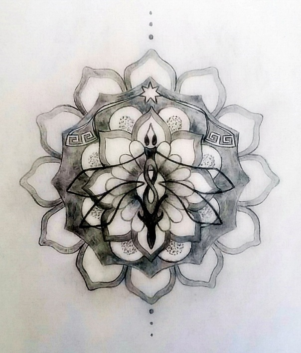Sacred Tattoo Design Mandala
