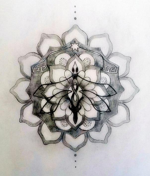 Sacred Tattoo Design Mandala