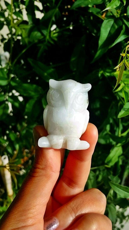 white owl stone