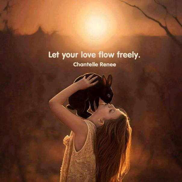 love flow freely