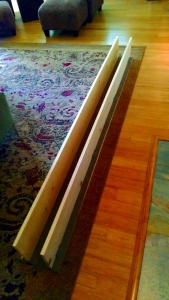 physical therapy orthopedic runway for cosmo 8 feet long 5 in wide 10 in high carpeted bottom