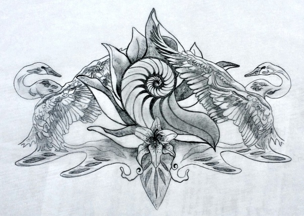Karin Sacred Tattoo Design