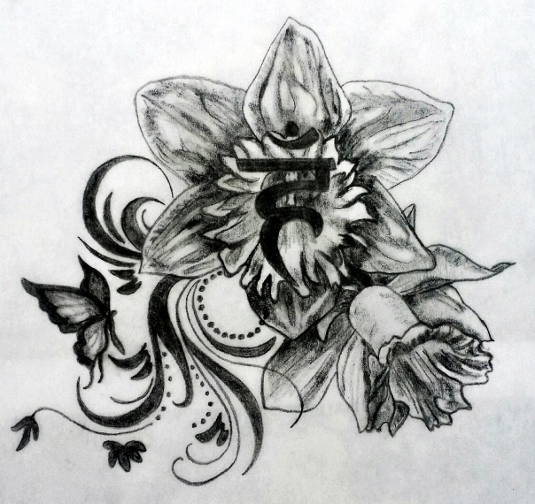 Sarah Sacred Tattoo Design