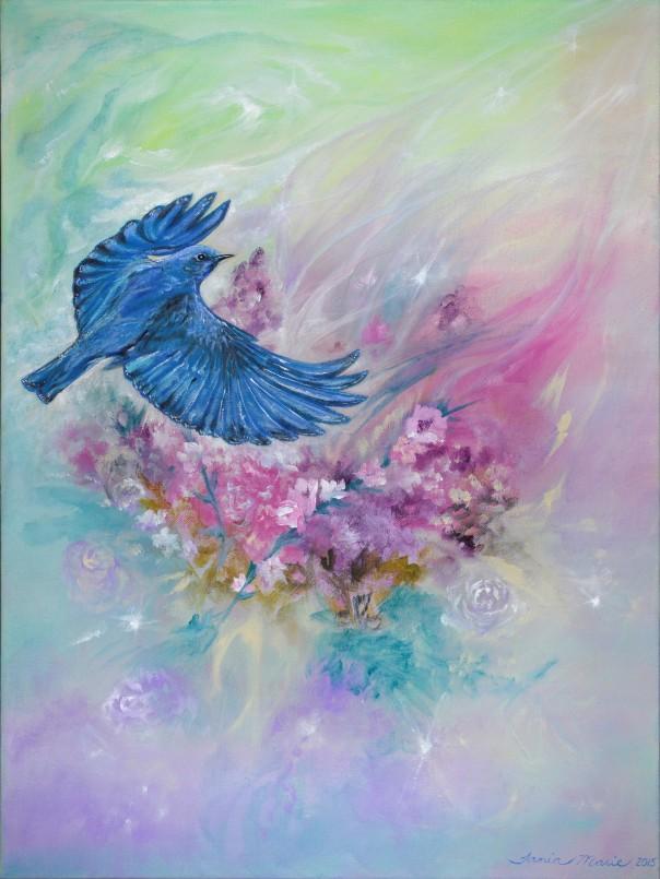 Song of Life Mountain Bluebird