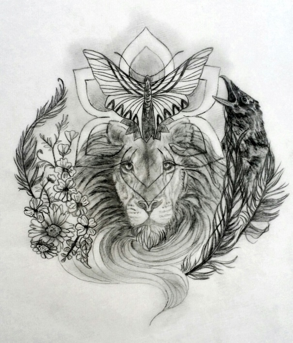 Ana Sacred Tattoo Design