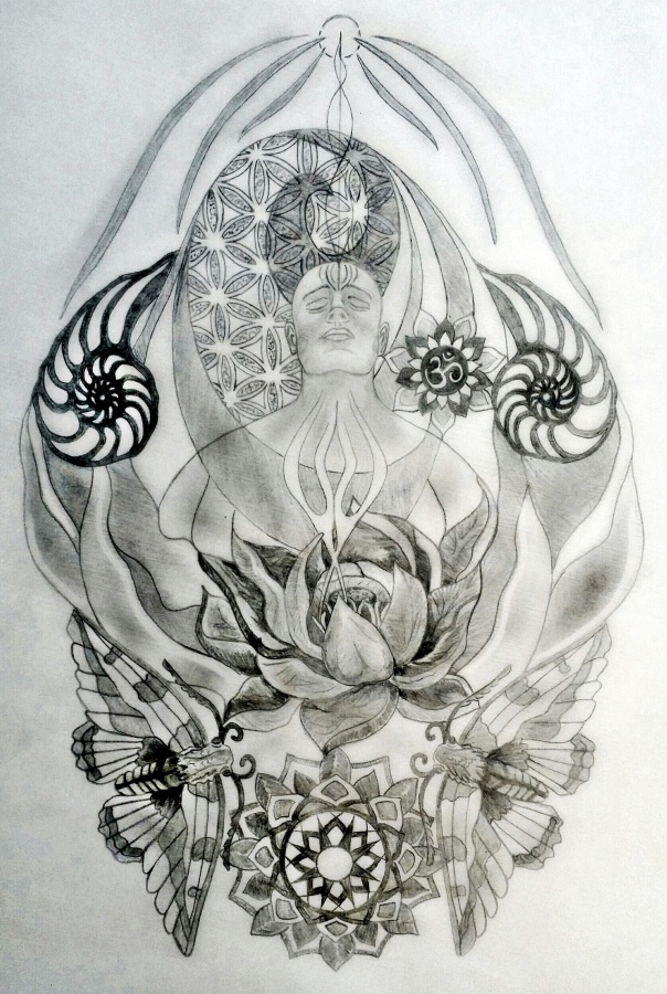 Eric Sacred Tattoo Design