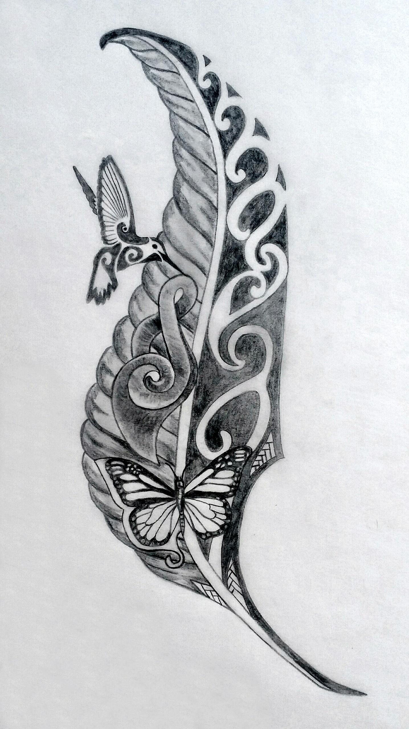 Lynne Sacred Tattoo Design