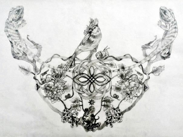 Mari Sacred Tattoo Design