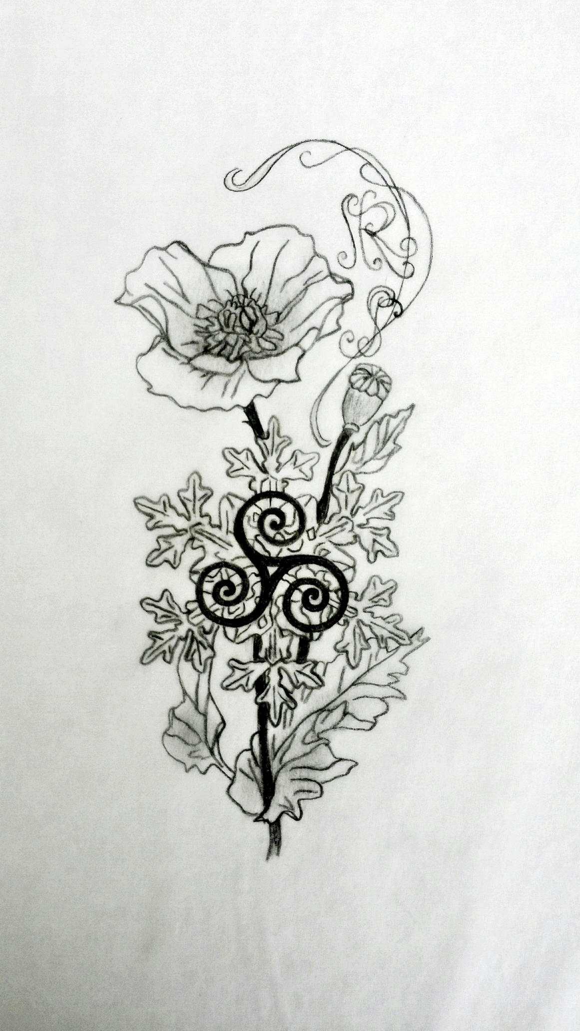 Sacred Tattoo Design Wrist