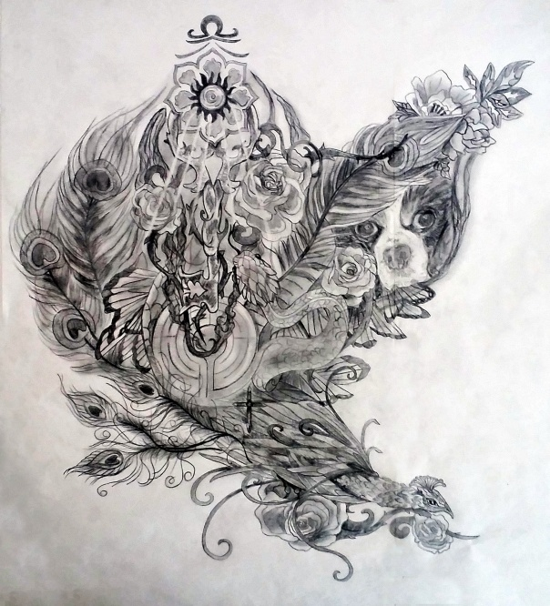 Kris Sacred Tattoo Design