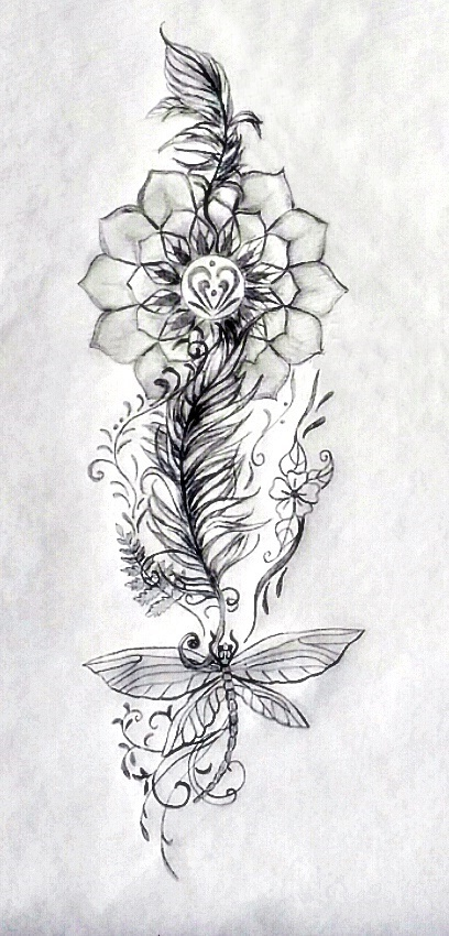 Nikki Sacred Tattoo Design