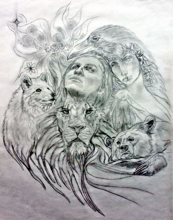 Dan Sacred Tattoo Design