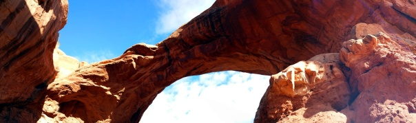 double arch pan above