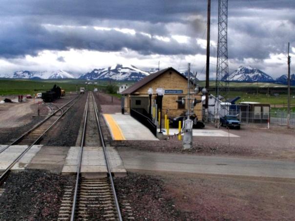 browning montana amtrak station